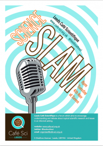 2014 Science Slam Poster Screenshot